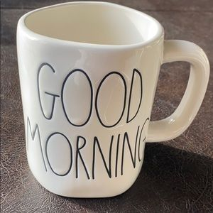 New Rae Dunn good morning mug cup